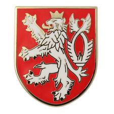 Premium Lapel Pin Gift Box Vegasbee® Lion Bohemian Coat Arms Czech Crest Shield