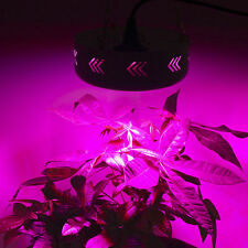 4X UFO Round LED 75W Grow Light Full Spectru Lamp Plant Veg Flowering Hydroponic