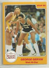 George Gervin 1985 Star Company SA Spurs Crunch 'n Munch All Star NBA Card #9