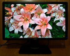 "Dell 23"" inch IPS Full HD 1080p DP (DisplayPort) DVI VGA USB Hub Widescreen"