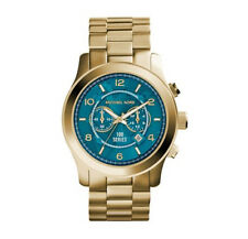 Michael Kors MK8315 Hunger Stop 100 Turquoise Watch - 2 Years
