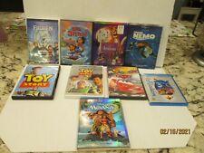 Disney Classics 9 Movie Lot DVD/blu ray-ALADDIN LILO STITCH TOY STORY MOANA CARS
