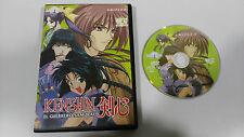 KENSHIN EL GUERRERO SAMURAI DVD VOL 12 CAP 35-37 + EXTRAS MANGA SELECTA VISION