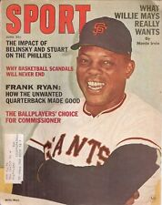 June 1965 Sport Magazine - Willie Mays San Francisco Giants HOF Arnold Palmer