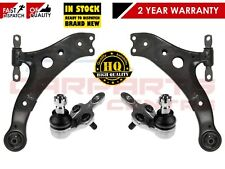 FOR LEXUS RX TOYOTA HARRIER FRONT LOWER SUSPENSION WISHBONE CONTROL ARMS KIT SET
