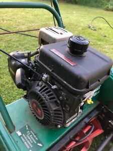 Qualcast Suffolk Punch Kawasaki complete engine, carb, drive & fuel tank