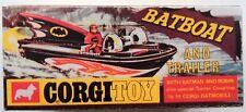 Corgi 107 Batboat Empty Repro Box