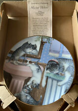 Mischief Makers Cat Country Kitties 1988 Hamilton plate by Gre' Gerardi 4845R