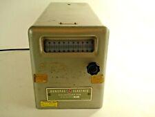 Vintage Ge Catalog No. 9892910G10 Galvanometer