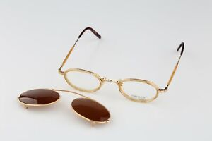 Matsuda 10402 PG, 90s double rim vintage eyeglasses and clip on sunglasses - NOS