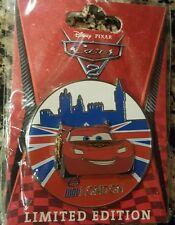 Disney Pin DSF Soda Fountain DSSH Cars 2 London Le 300 Lightning McQueen WGP