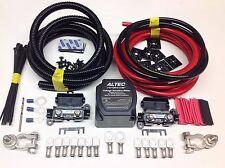 9mtr Split Carga relé Kit 12v 140amp inteligente M-power relé 110amp Cables