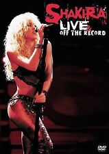 SHAKIRA Live  Off The Record (DVD, 2004, 2-Disc Set, DVD/CD 2 Pack) New SEALED