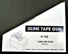 Uline H 150 Industrial Side Loader Hand Held Packaging Tape Gun Dispenser 2 New