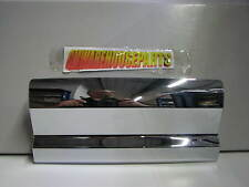 2015-2016 GMS SIERRA CHROME FRONT LICENSE PLATE COVER NEW GM #  23180725