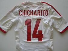 Adidas 11-12 Mexico Player Issue Techfit Soccer Jersey Chicharito Hernandez Sz M