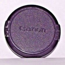 Canon 58mm C-58mm Lens Front Cap Genuine vintage FD FL - Free shipping worldwide