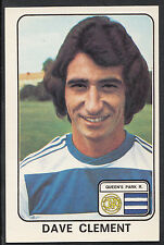 Panini 1979 Football Sticker - No 301 - Dave Clement - Queen's Park Rangers
