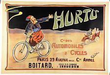 Hurtu - Original Vintage Bicycle Poster - Cycling - Beunke