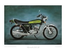Kawasaki 500 H1 (1973) -  Limited Edition Collectors Print