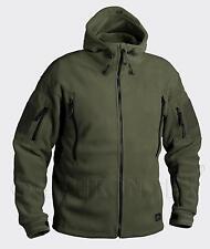 HELIKON TEX PATRIOT HEAVY FLEECE Outdoor Kapuzen JACKE Jacket oliv L / Large