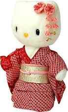 Maiko Kitty Silk Kimono Doll Figures, Plush Stuffed Animals  from Japan NEW