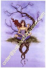 Amy Brown Print Adrift Floating Tree Fairy Steampunk Le Signed #/250 13x19 Rare