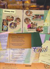 Creative Memories MKC Vellum & Verses Paper & Titles Ki