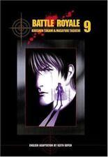 Battle Royale Vol. 9 by Koushun Takami (2004, Paperback) rare oop AC Manga