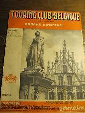 Touring Club de Belgique 15 Septembre 1948 Rochefort et ses vestiges du passé
