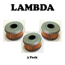 Oil Filter 3 PACK Honda ATC250 TRX250 TRX300 TRX350 TRX400 TRX420 TRX450 TRX500