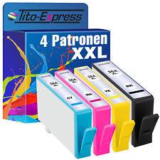 4x Patrone ProSerie für HP 364 XL Deskjet 3070 AIO 3520 3520E 3520 E AIO 3520V