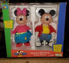 mickey mouse for friends talk n dance interactive mickey and minnie thinkway toy