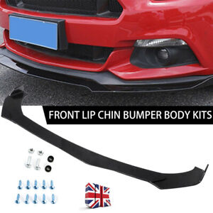 For BMW E90 E91 E92 E93 M3 F10 F11 Front Bumper Lip Body Kit Spoiler Splitter UK