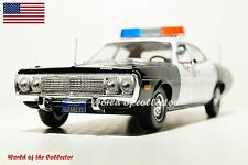 Dodge Coronet Sedan 225 Six (1973) Police of the USA DeAgostini Car Scale 1 43