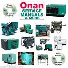 Onan RV GENERATOR NH Parts Catalogs & SERVICE Manual -30- MANUALS Collection CD