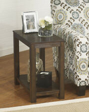 Ashley Furniture Chair Side End Table Grinlyn Rustic Brown T660-7 Table NEW