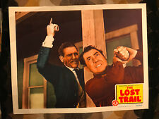 The Lost Trail 1945 Monogram western lobby card Johnny Mack Brown