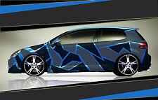 Camouflage Aufkleber Set Cyber Pixel Autotattoo Auto Sticker Tuning JDM 7.2099