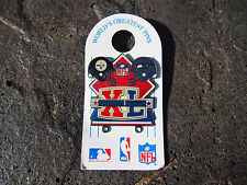 NFL Pittsburgh Steelers vs Seattle Seahawks SB Super Bowl XL 40 Pinback Pin