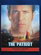 THE PATRIOT Film Book SIGNED by MEL GIBSON & TOM WILKINSON 1st Ed / 1st Printing