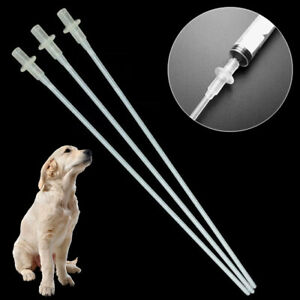 10PCS Canine Dog Goat Sheep Artificial Insemination Breed Whelp Catheter Rod New