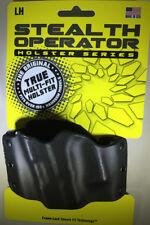 Phalanx Defense Systems Stealth Operator Holster, Left Hand OWB Black (H60092)
