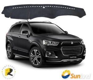 Dash Mat Sunland Charcoal for Holden Captiva CG 2015+ G8706
