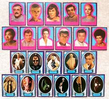 Vintage 1979 Topps STAR TREK Motion Picture Cards - Complete Set of 22x Stickers