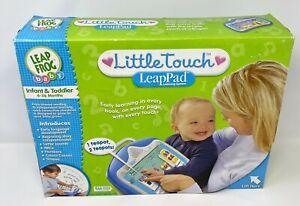 LeapFrog Little Touch LeapPad Learning System Infant & Toddler 6 - 36 Month Blue