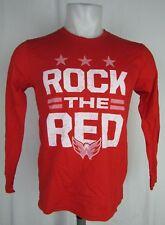 Washington Capitals Youth Long Sleeve Graphic T Shirt Red NHL Large