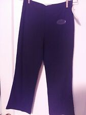 NWT WOMENS ATHLETIC WORKS BLACK CAPRIS Sz S 4/6 NEW