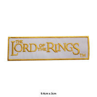 Lord of Rings Movie Comic Embroidered Patch Iron on Sew On Badge For Clothe etc