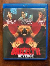Grizzly II Revege Blu-ray 1983 Cult Horror Movie w/ George Clooney Region Free